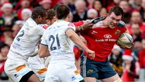 Peter O'Mahony says the back to back games gives Munster a chance to improve.