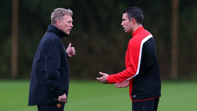 David Moyes said a lot of what had been written about Robin van Persie had been incorrect