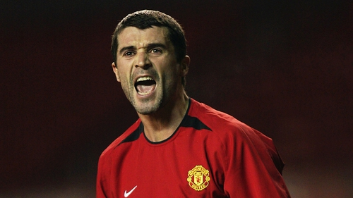 Roy Keane was a motivator during his playing days with Manchester United