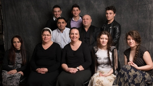 Participants in the 'Roma, One People - Many Lives' project (Pic: James Fraher/Bogfire)