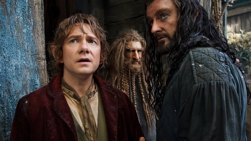 Martin Freeman and Richard Armitage in The Hobbit: The Desolation of Smaug