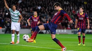 Gerard Pique has penned a new deal with Barcelona
