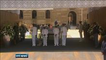 Nelson Mandela lies in state in Pretoria
