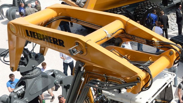 Liebherr has been manufacturing cranes in Killarney for 55 years and currently has 670 employees there