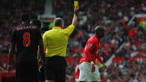 Ashley Young has seen yellow cards for diving on more than one occasion