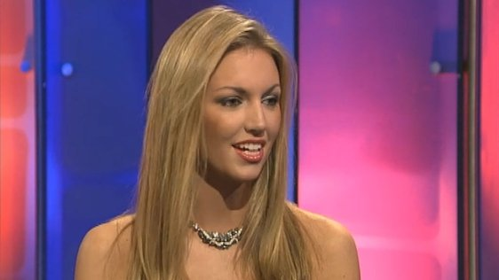 Miss World Rosanna Davison 2003