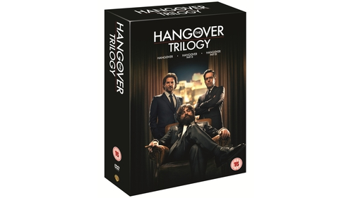 The Hangover Trilogy and The Hangover Part III - Out now