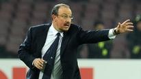 Arsenal's Wojciech Szczesny and Napoli manager Rafa Benitez speak to RTÉ's Tony O'Donoghue.