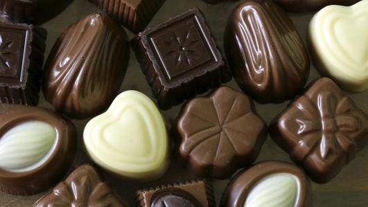 Chocolates & Angus Kennedy