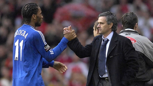 Didier Drogba will meet again on Wednesday