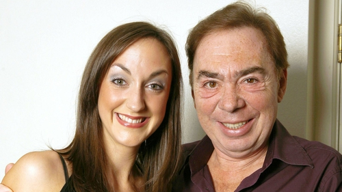 Helena Blackman and Andew Lloyd Webber during How Do You Solve a Problem like Maria? in 2006