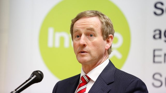 Enda Kenny said he understood the board had gone off to consider their positions (Pic: Sasko Lazarov/Photocall)