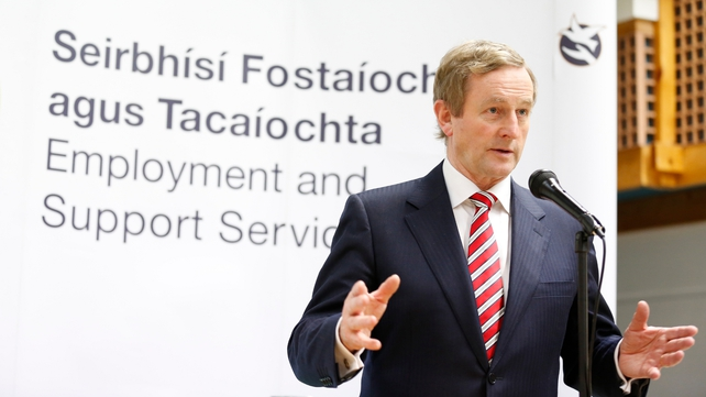 Enda Kenny was speaking at an event in Ballyfermot