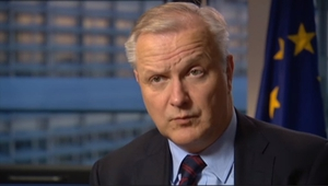 Olli Rehn said that Ireland is not completely out of the woods yet, but he said it is still on a very good and sustainable path