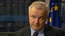 Interview with Olli Rehn, European Commissioner for Economic and Monetary Affairs