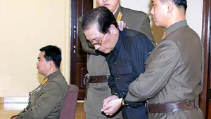 Pictures were released of Jang Song Thaek in court before his execution