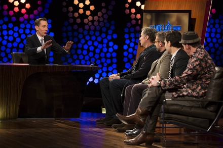 Ryan Tubridy interviews The Anchorman 2: The Legend Continues cast