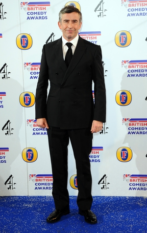 Steve Coogan was amongst the winners at the British Comedy Awards