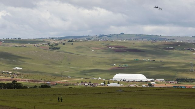 Preparations continue in Qunu ahead of the funeral on Sunday