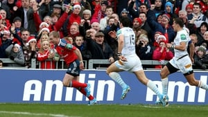 Keith Earls is back in action for Munster