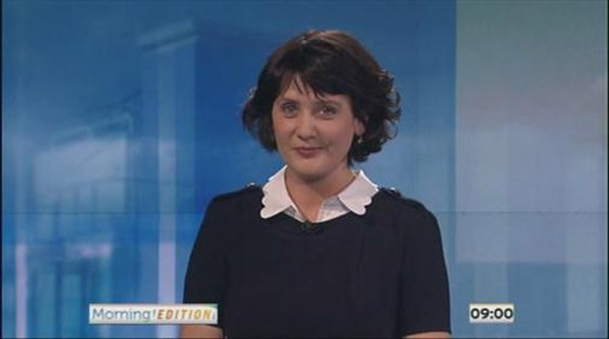 Keelin Shanley, 'Morning Edition', 28 January 2013