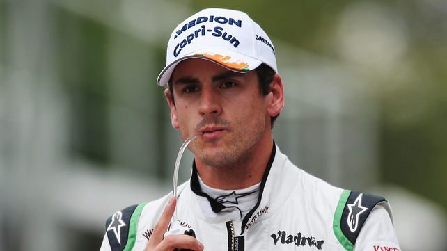 Adrian Sutil lost his spot in the Force India team