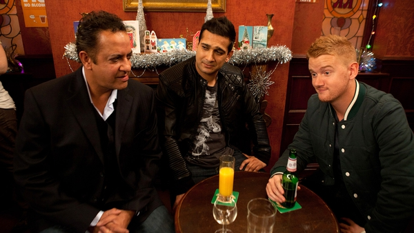 Jimi Mistry first appeared on the soap last month