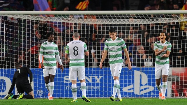 Celtic suffered 6-1 humiliation in Barcelona