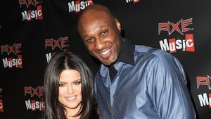 Khloé Kardashian and Lamar Odom