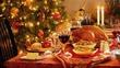 Christmas Vegetables and Hospital Food