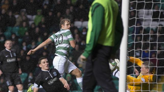 Finnish striker Teemu Pukki was on the mark for the Bhoys