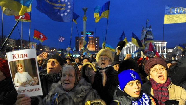 Street protests started after the 21 November decision by President Viktor Yanukovych to walk away from a trade pact with the EU at the last minute and seek closer ties with Russia