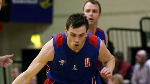 UCC Demons' Kyle Hosford scored 23 points