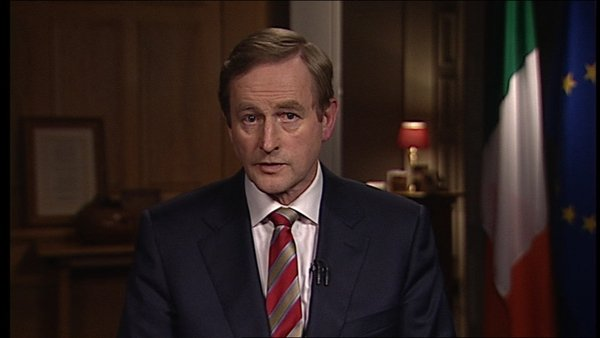 Enda Kenny said the people and the Government have worked hard to get Ireland working again