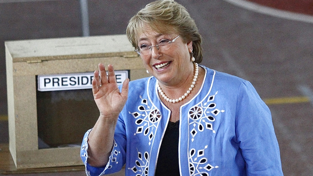 Former President Michelle Bachelet led the country from 2006 to 2010, impressed by her easy charm and plans to tackle deep income inequality