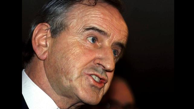 Albert Reynolds in his days as Fianna Fáil leader
