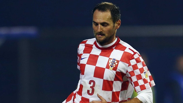 Josip Simunic will be suspended for the World Cup