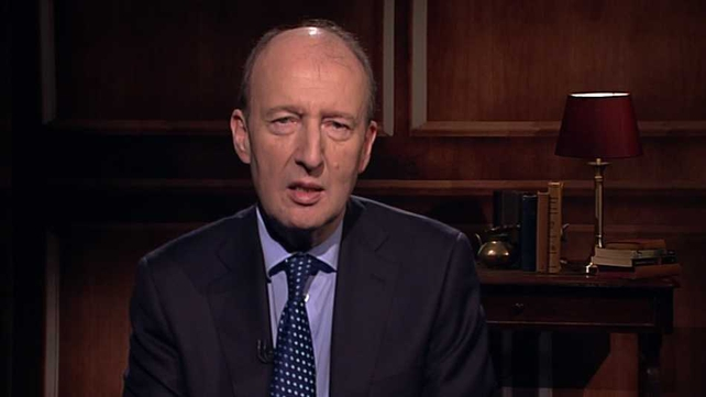 Shane Ross said it would be premature to hold a national celebration for exiting the bailout