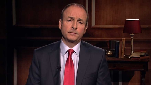 Micheál Martin said fixing the public finances was only one part of the problem
