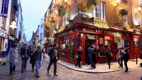 The number of nights overseas visitors stayed in Ireland fell last year