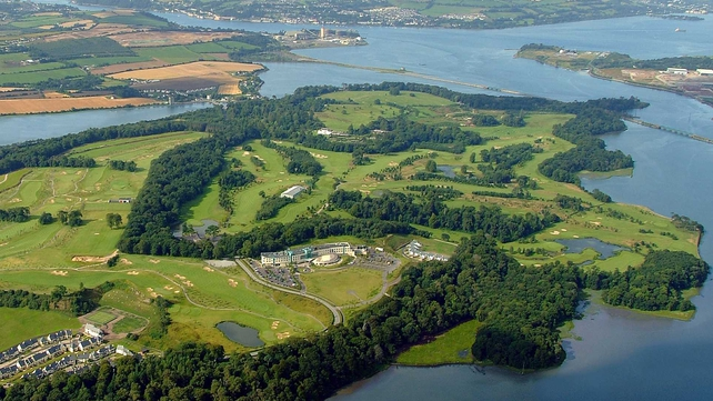 The Fota Island resort is located just outside Cork City