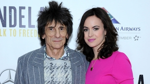 Ronnie and Sally Wood