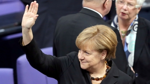 Angela Merkel is just the third person to secure three terms as chancellor in post-war Germany