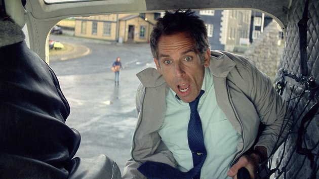 Ben Stiller as our daydreaming but not dreamy hero, Walter Mitty
