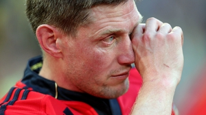 Ronan O'Gara shed a few tears after defeat in his last appearance for Munster, a Heineken Cup semi-final loss to Clermont in France