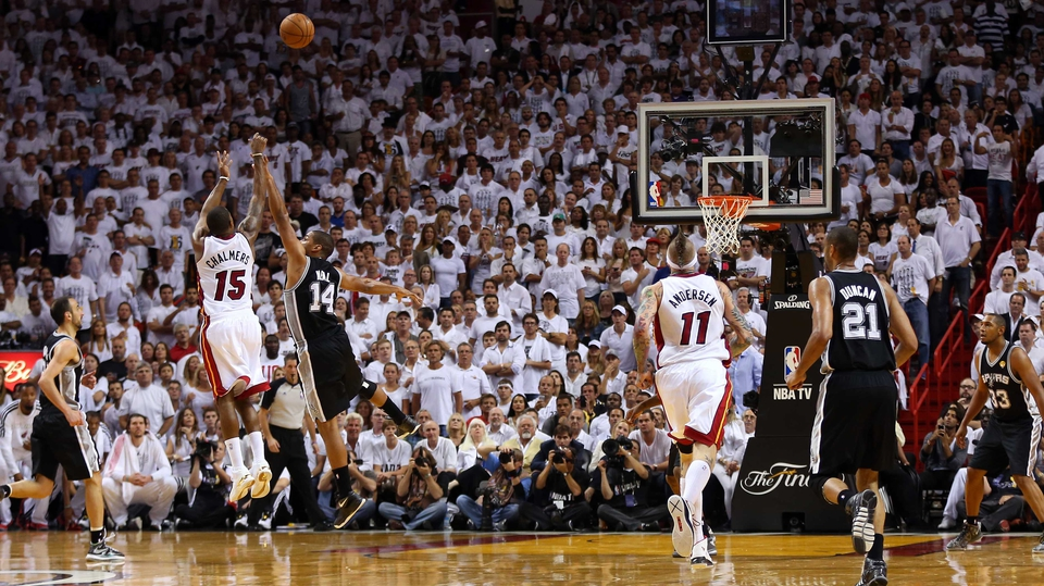The Miami Heat claimed the NBA honours in America, beating the  San Antonio Spurs in June