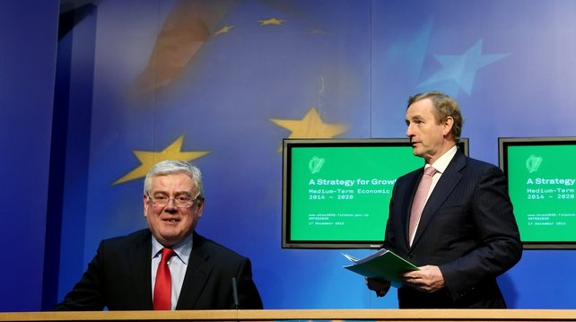 The Government said the plan was a 'roadmap for the Irish economy'