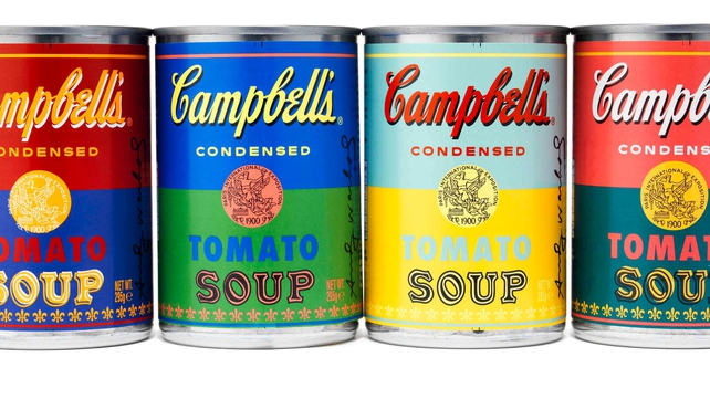 Campbell's celebrate Warhol