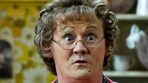 Mrs Brown's Boys - Nominated in the Best Comedy category alongside The Big Bang Theory, Derek and Miranda
