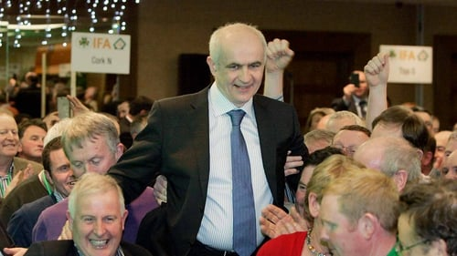 IFA president Eddie Downey warned  that a lot of issues facing Minister for Agriculture